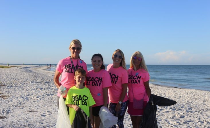 Siesta Beach Clean Up